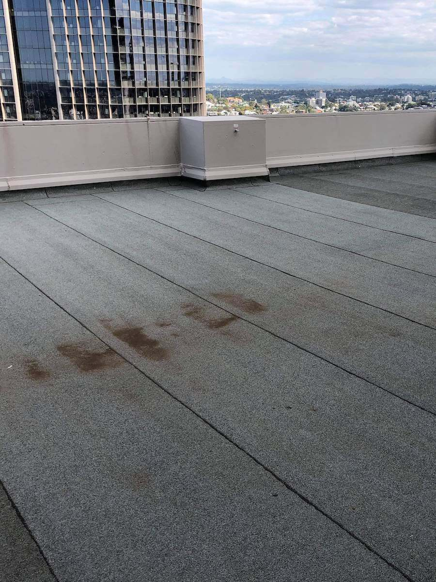 Rooftop before Tritoflex
